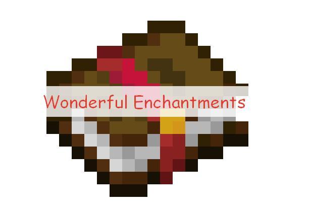 Wonderful Enchantments новые виды зачарований