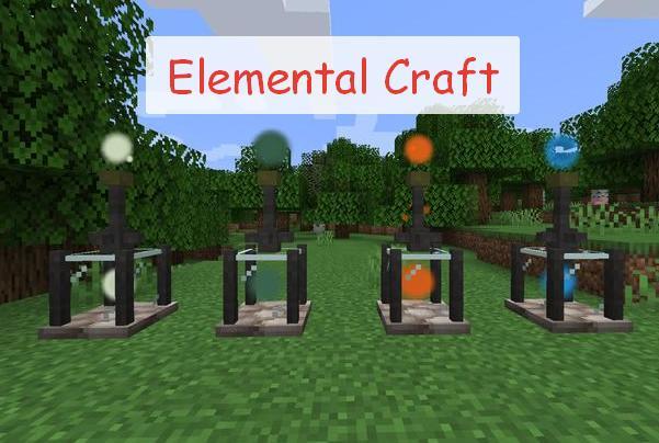Elemental Craft магия четырех стихий
