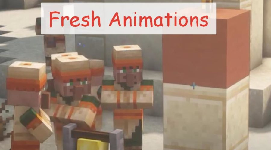 Fresh Animations реалистичная анимация мобов