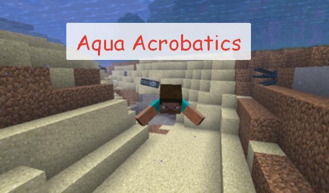 Aqua Acrobatics анимация и механика плавания