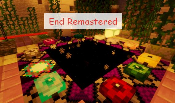 End Remastered новый телепорт в Эндер мир