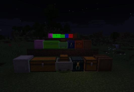 Chest locator подсветка сундуков и хранилищ
