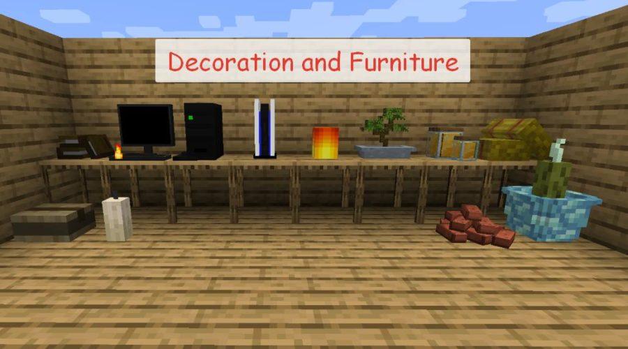 Decoration and Furniture мебель и декоративные блоки