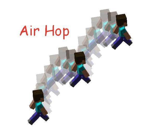 Air Hop двойные и тройные прыжки в воздухе