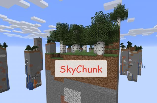 SkyChunk генерация 5% от всех чанков (СкайЧанк)