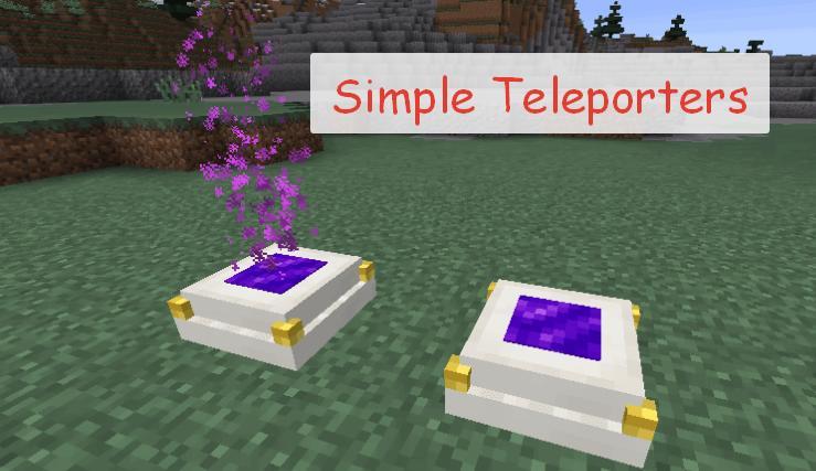 Simple Teleporters простой телепорт в Майнкрафт