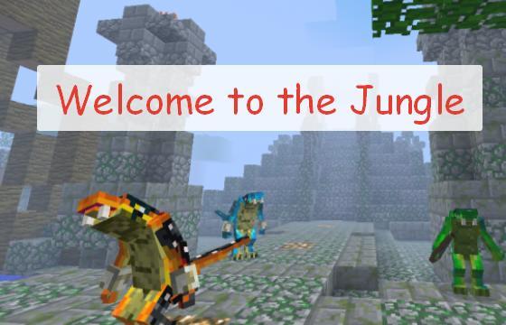 Welcome to the Jungle новые структуры, мобы и боссы