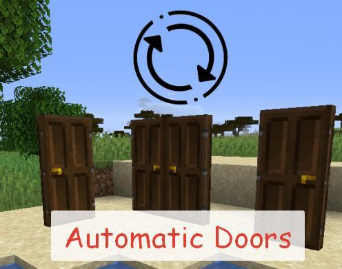Automatic Doors автоматическое открывание дверей