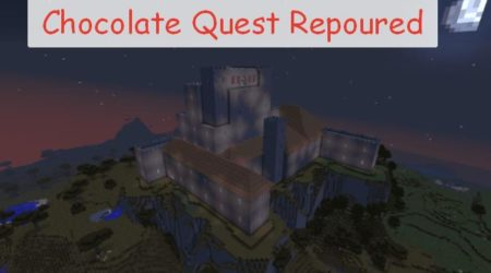 Chocolate Quest Repoured новые данжи и структуры