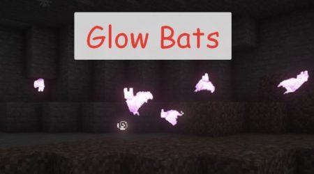 Glow Bats светящиеся летучие мыши