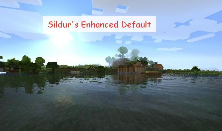 Sildur's Enhanced Default ванильный шейдер для слабых компьютеров