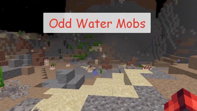 Odd Water Mobs новые рыбы и морские декоративные блоки