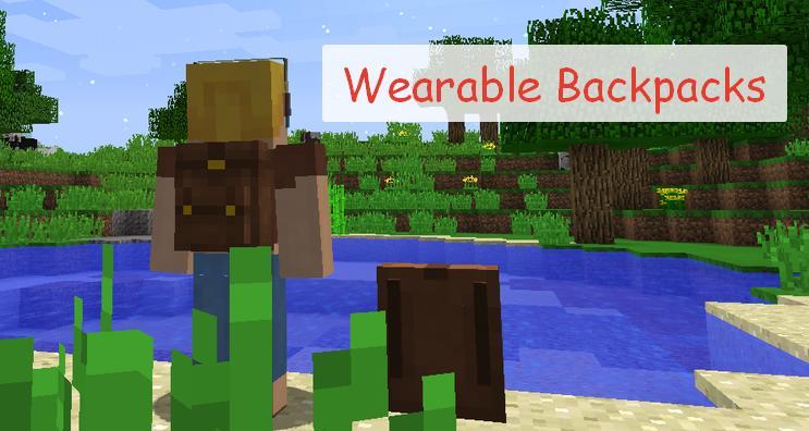 Wearable Backpacks реалистичный рюкзак