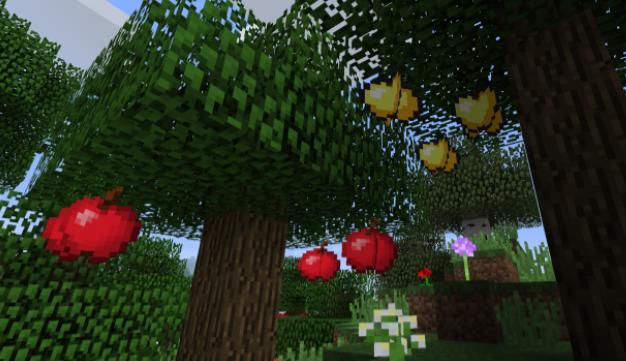 Apple Trees Revived яблоки на деревьях