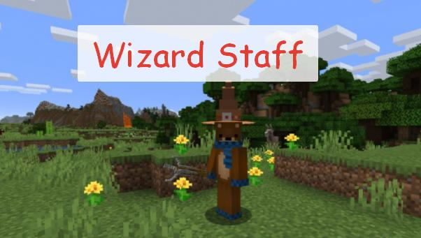 Wizard Staff магический посох
