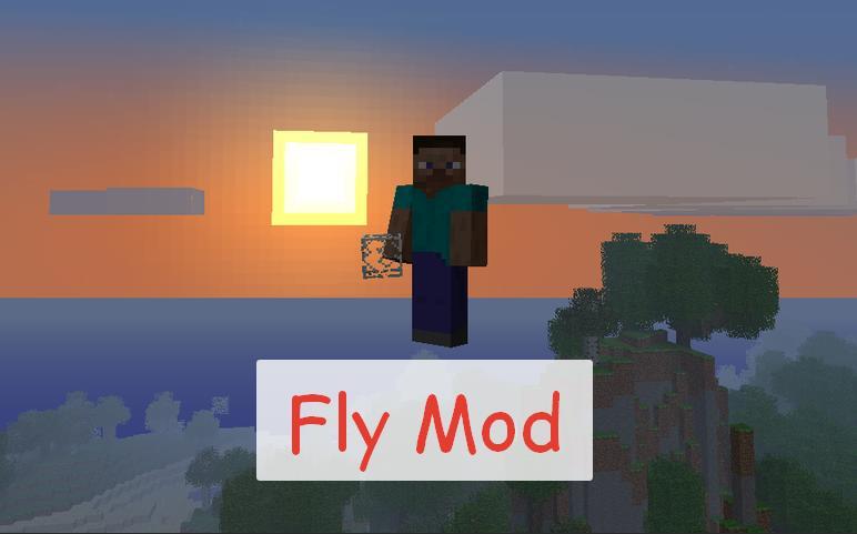 Fly Mod полет как в креативе