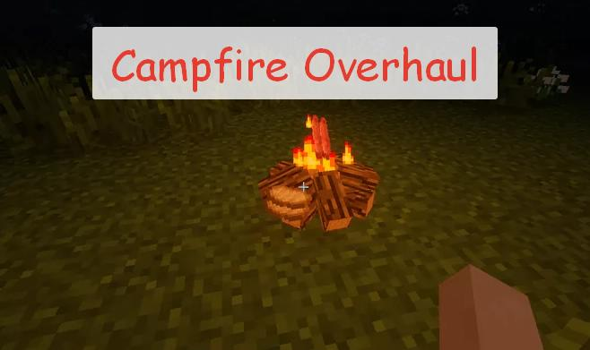 Campfire Overhaul реалистичный костер