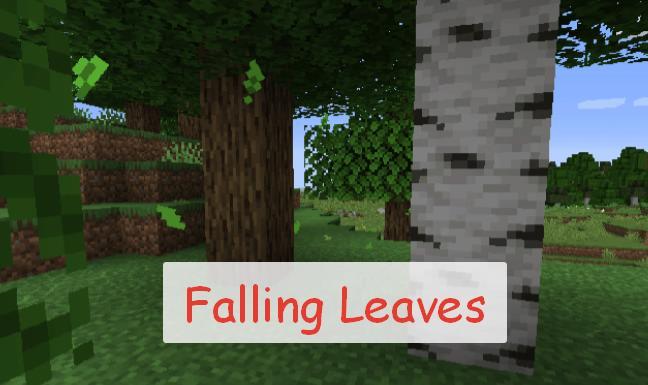 Falling Leaves анимация падения листьев с деревьев