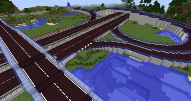 More Road дорога, дорожные знаки, светофоры и т.д.