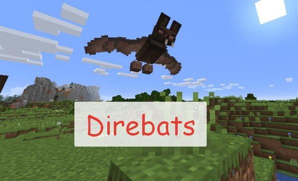 Direbats большие летучие мыши ворующие предметы