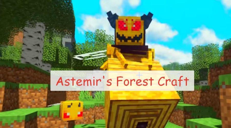 Astemir's Forest Craft странные мобы и новое снаряжение