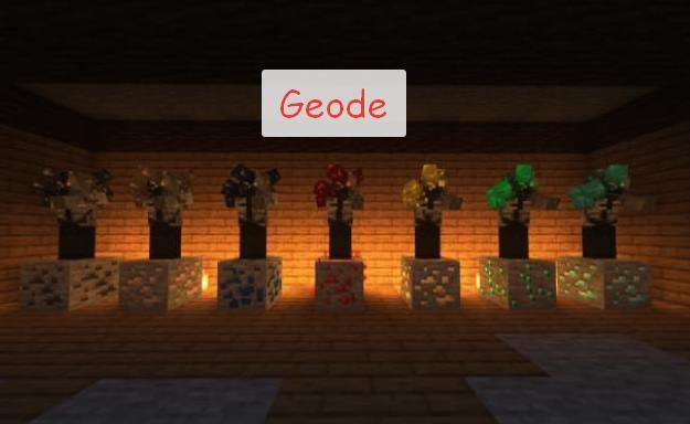 Geode зомби срощенные с рудами