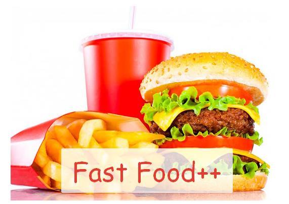 Fast Food++ мод на фастфуд с реалистичным внешним видом