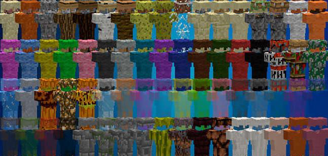 Block Armor броня из ванильных блоков