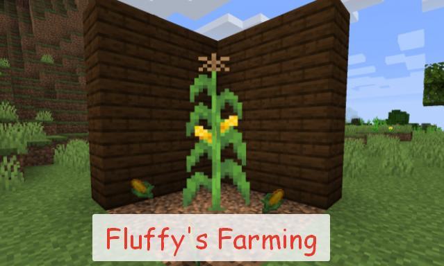 Fluffy's Farming новые растения и еда