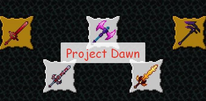Project Dawn оружие, мобы и снаряжение
