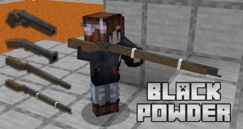 Black Powder реалистичное пороховое оружие