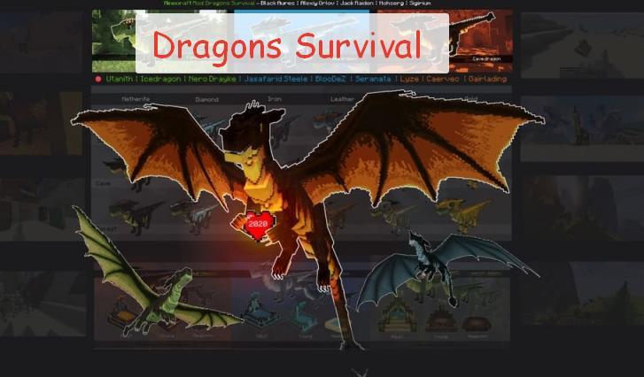 Dragon Survival играть за дракона