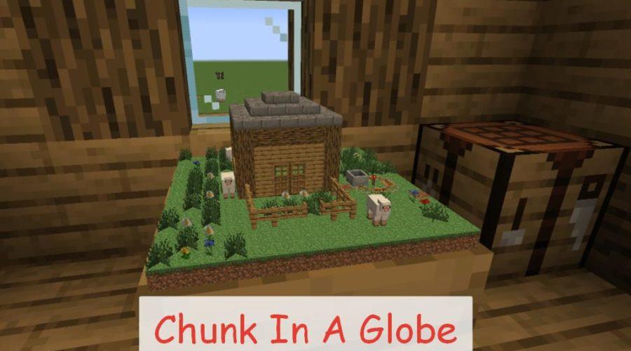 Chunk In A Globe создание архитектурных макетов размером в 1 блок