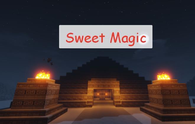 Sweet Magic магический мод с упором на декор
