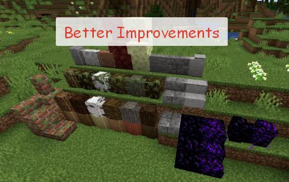 Better Improvements множество мелких изменений