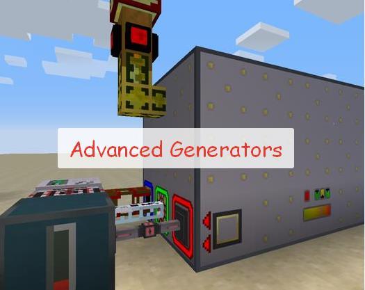 Advanced Generators генераторы для выработки энергии