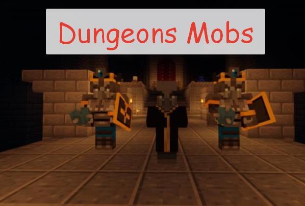 Dungeons Mobs мобы из Minecraft: Dungeons