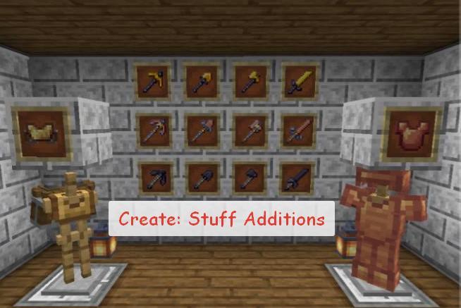 Create Stuff Additions новые инструменты