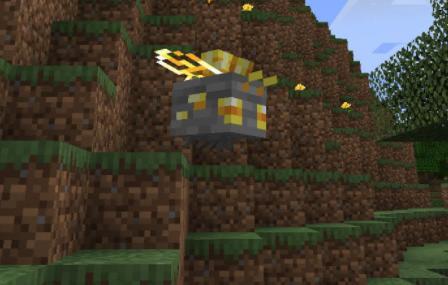 Resourceful Bees пчелы добывающие ресурсы