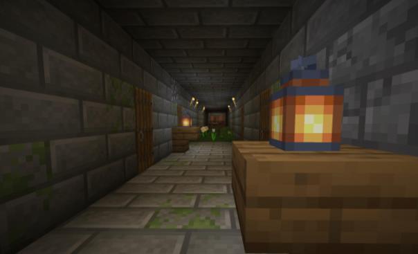 Stoneholm мод на подземные деревни