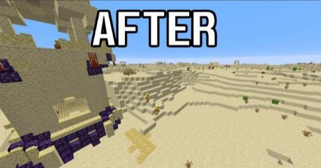 Desert Upgrade улучшение пустыни