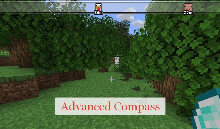 Advanced Compass компас как в РПГ
