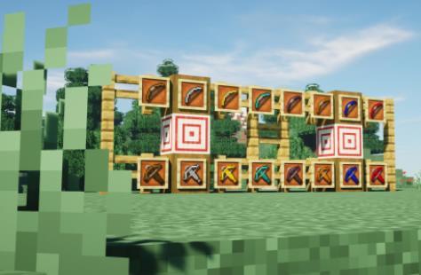 The Gems Project оружие, броня и инструменты из новых руд