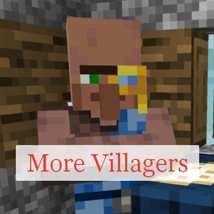 More Villagers новые деревенские жители