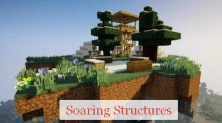 Soaring Structures парящие острова