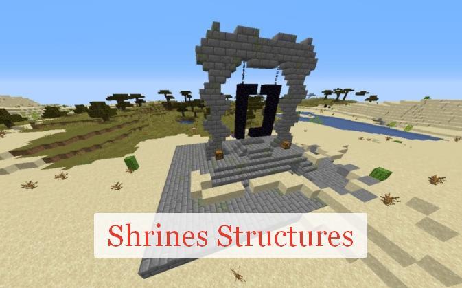 Shrines Structures новые структуры