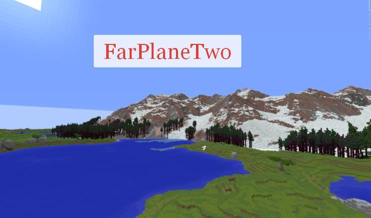 FarPlaneTwo большая видимость за счет размытия текстур