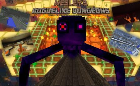 Wesley's Roguelike Dungeons новые данжи и структуры