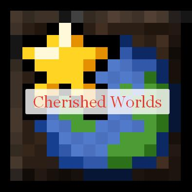 Cherished Worlds добавление миров в избранное