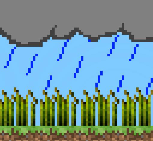 Farming in Rain